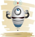 cyclop vector character by GraphicMama - Shape7