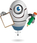 cyclop vector character by GraphicMama - Notepad