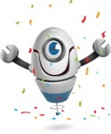 cyclop vector character by GraphicMama - Celebrate