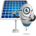 cyclop vector character by GraphicMama - Solar Panel