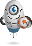cyclop vector character by GraphicMama - Soccer
