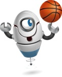 cyclop vector character by GraphicMama - Basketball