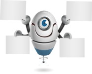 cyclop vector character by GraphicMama - Sign 8