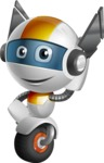 robot vector cartoon character design - OWAF - Oops