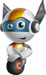 robot vector cartoon character design - OWAF - Patient