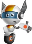 robot vector cartoon character design - OWAF - Bored