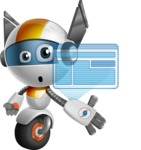 robot vector cartoon character design - OWAF - Multimedia