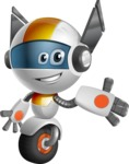 robot vector cartoon character design - OWAF - Show