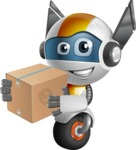 robot vector cartoon character design - OWAF - Delivery 1