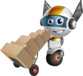 robot vector cartoon character design - OWAF - Delivery 2