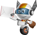 robot vector cartoon character design - OWAF - Delivery 3