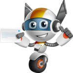 robot vector cartoon character design - OWAF - Printer