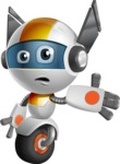 robot vector cartoon character design - OWAF - Sorry