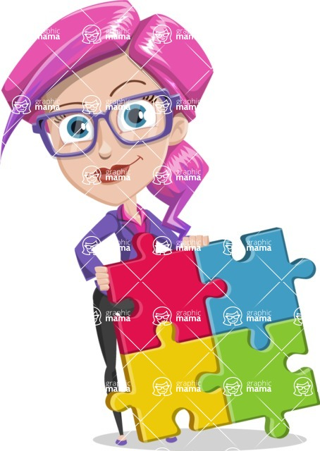 Pam the Lucky Charm: Ultra Violet Edition 2018 - Puzzle
