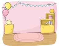 Girly Room Party Decoration