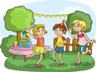 Children's Party Outdoors
