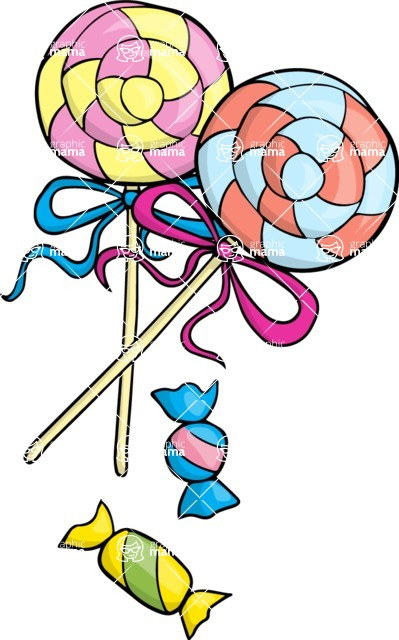 Party: Let's Have Fun - Lollipops and Candies