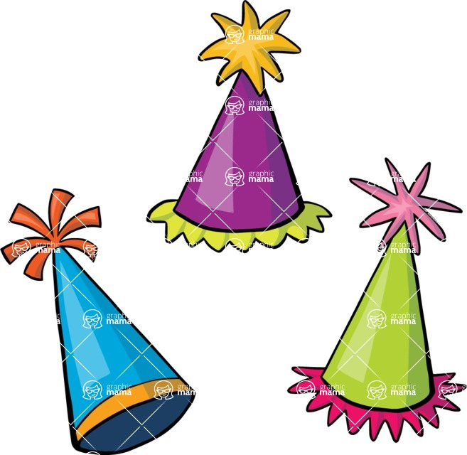 Party: Let's Have Fun - Party Hats