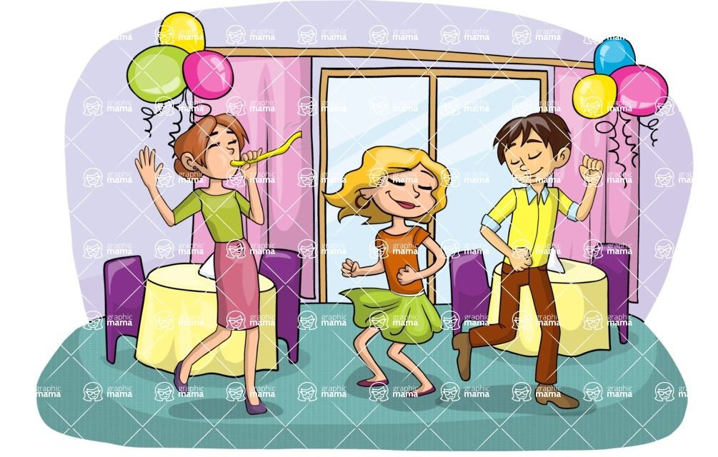 Party: Let's Have Fun - Party in a Restaurant