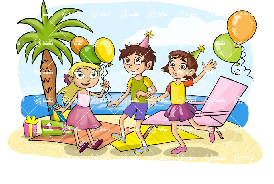 Party: Let's Have Fun - Kids' Party at the Beach