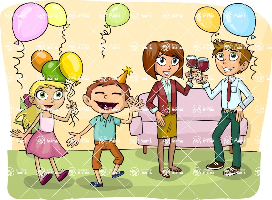 Party: Let's Have Fun - Party with Balloons
