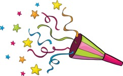 Party: Let's Have Fun - Party Popper With Confetti