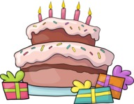 Party: Let's Have Fun - Birthday Cake and Gifts