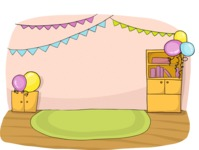 Party: Let's Have Fun - Party Decorated Room