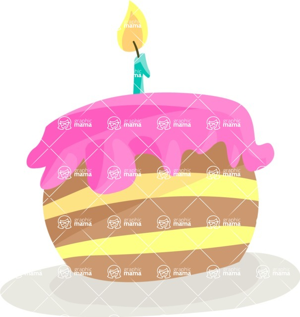 Party Vectors - Mega Bundle - Birthday Cake