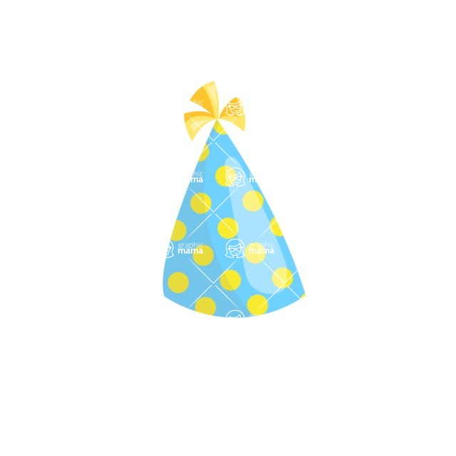 Party Vectors - Mega Bundle - Party Hat 1