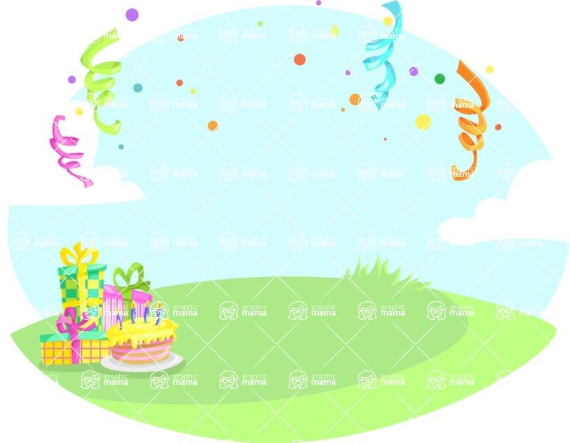 Party Vectors - Mega Bundle - Picnic Birthday Party
