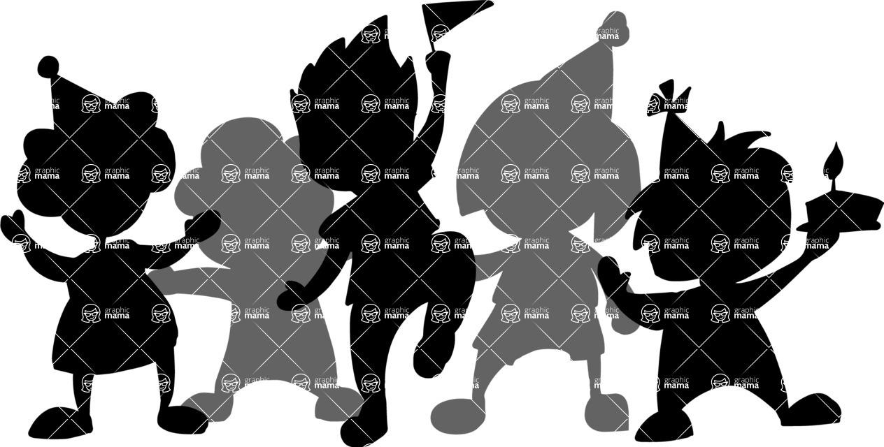 Party Vectors - Mega Bundle - Children's Party