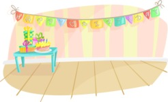 Party Vectors - Mega Bundle - Happy Birthday Room Decoration