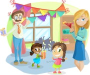Party Vectors - Mega Bundle - Children's Birthday Party at Home