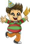 Chubby Boy Running