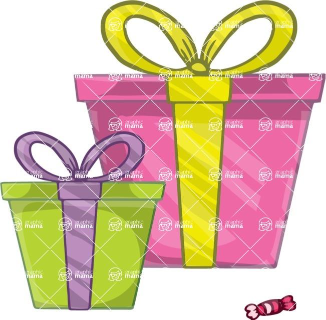 Birthday Vectors - Mega Bundle - Birthday Presents