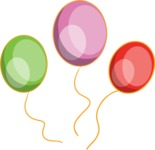 Birthday Vectors - Mega Bundle - Balloons