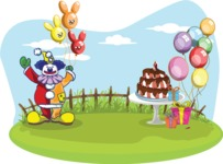Party: Everyone's Invited - Birthday Party Setup and Clown