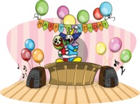 Birthday Vectors - Mega Bundle - Happy Birthday Party Setup