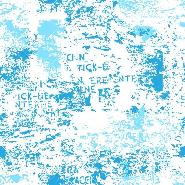 Seamless Pattern Designs Mega Bundle - Grunge Pattern 64