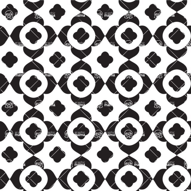 Seamless Pattern Designs Mega Bundle - Geometric Pattern 32