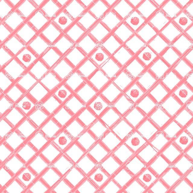 Seamless Pattern Designs Mega Bundle - Watercolor Pattern 12