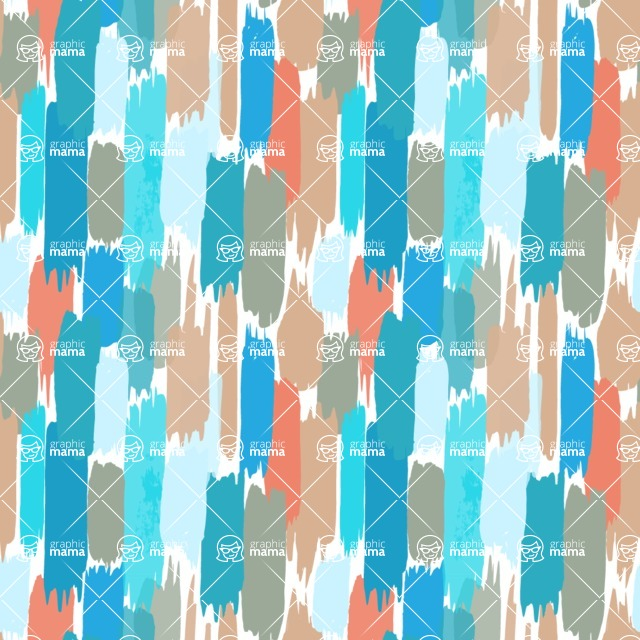 Seamless Pattern Designs Mega Bundle - Watercolor Pattern 31