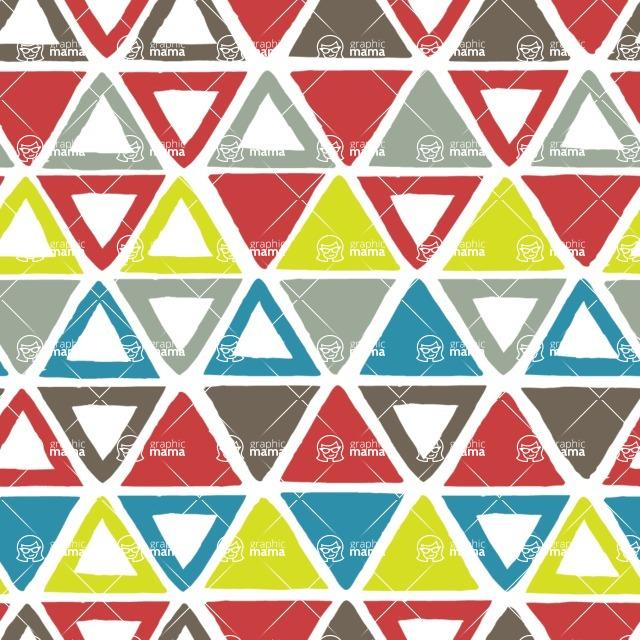 Seamless Pattern Designs Mega Bundle - Watercolor Pattern 32