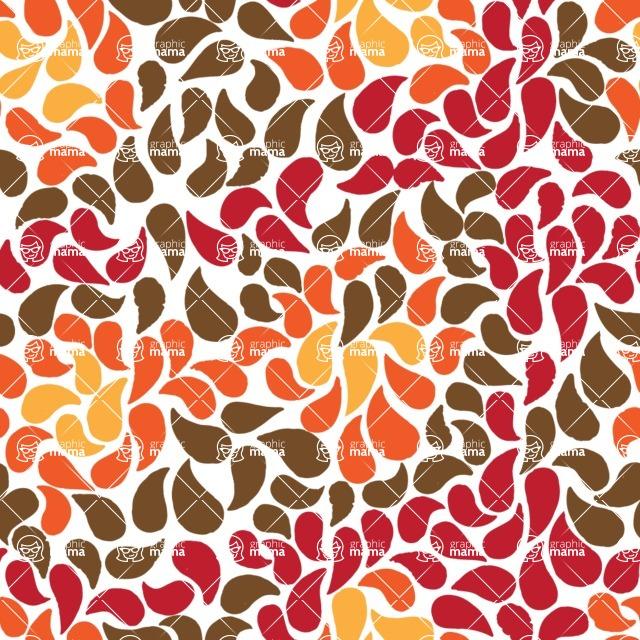 Seamless Pattern Designs Mega Bundle - Watercolor Pattern 33