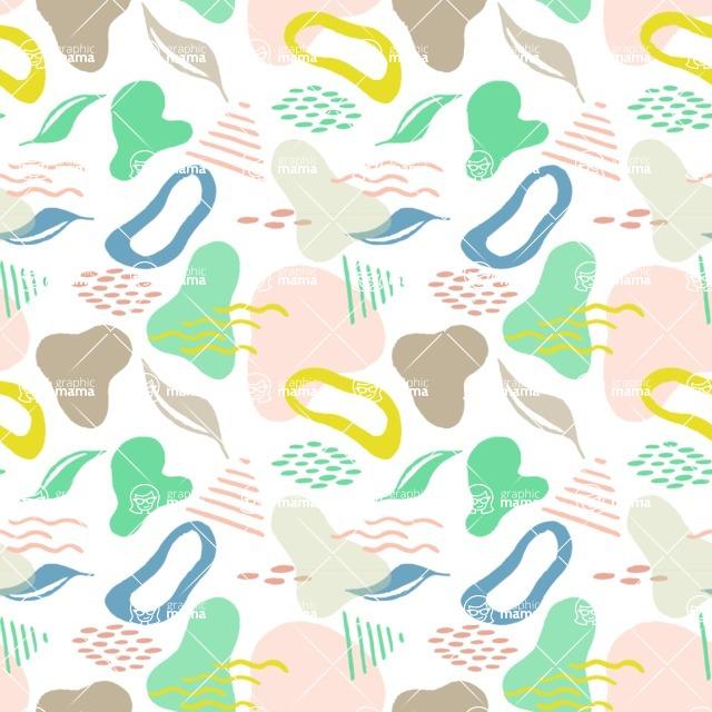 Seamless Pattern Designs Mega Bundle - Watercolor Pattern 38