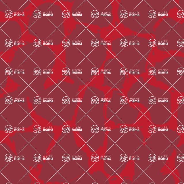 Seamless Pattern Designs Mega Bundle - Watercolor Pattern 39