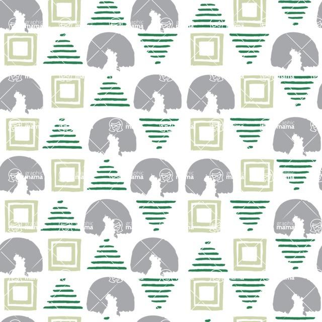 Seamless Pattern Designs Mega Bundle - Watercolor Pattern 64