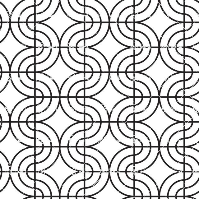 Seamless Pattern Designs Mega Bundle - Geometric Pattern 39