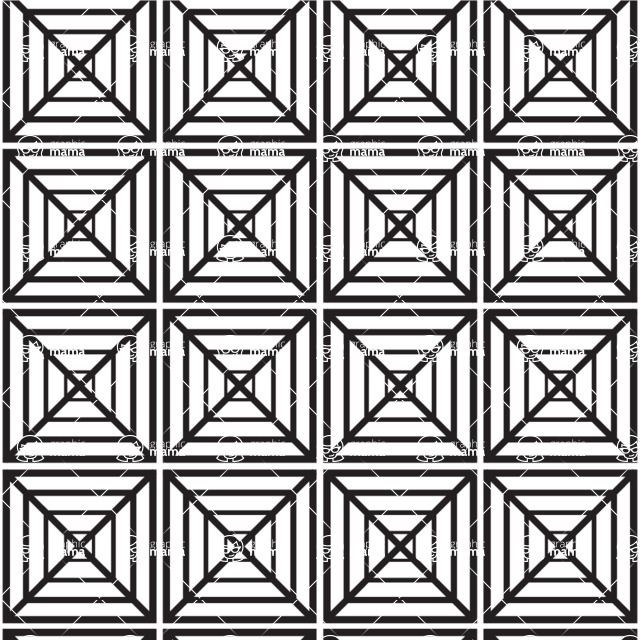 Seamless Pattern Designs Mega Bundle - Geometric Pattern 45
